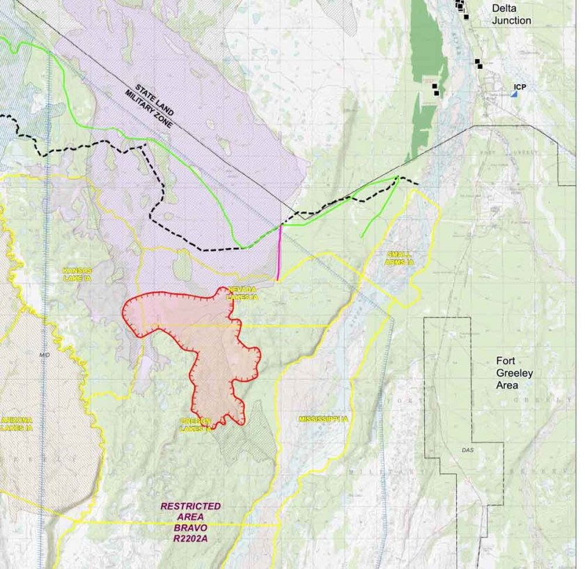 map Oregon Lakes Fire