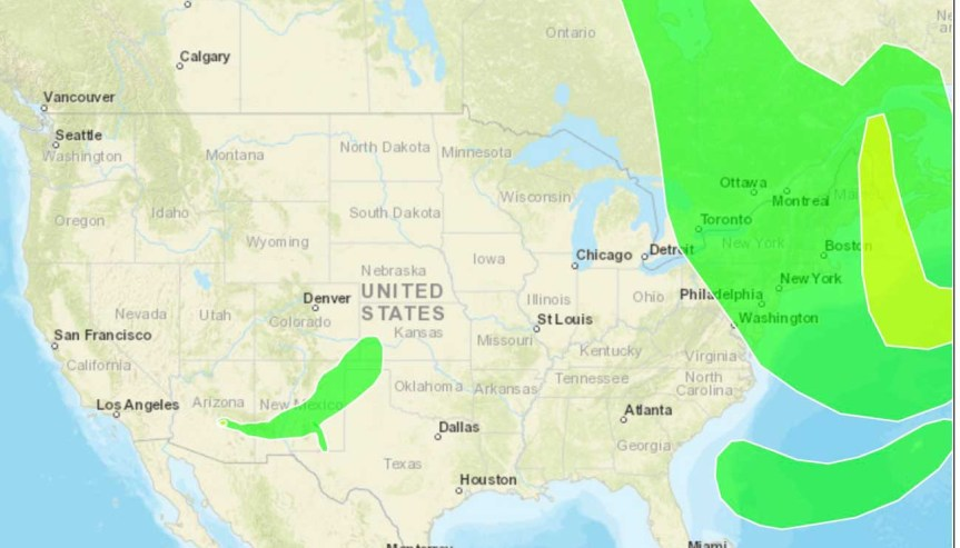 Wildfire smoke maps for August 7, 2019 - Wildfire Today