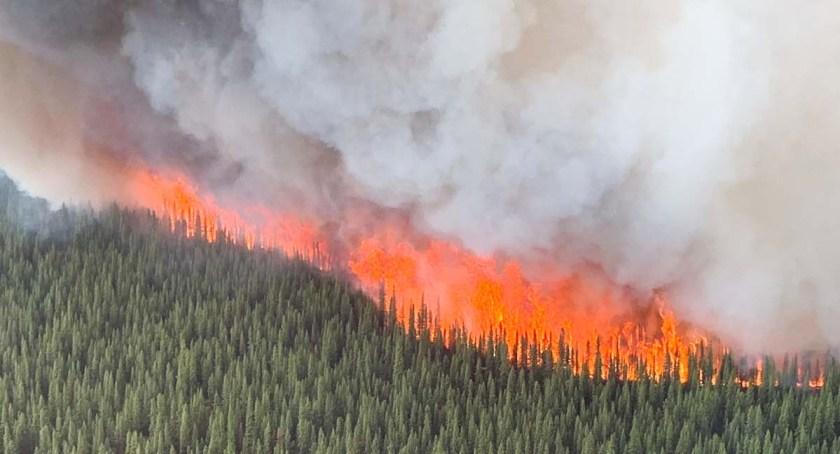 Swan Lake Fire Alaska