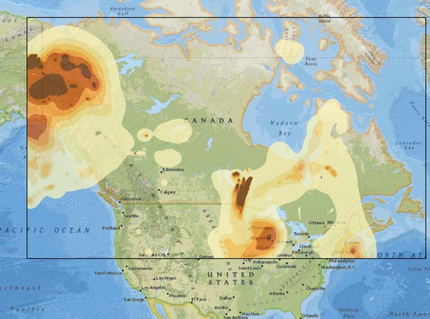 wildfire smoke forecast July 10 2019
