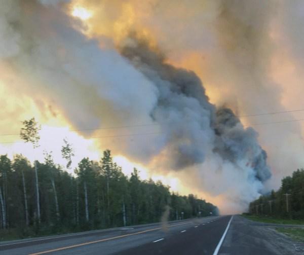 McKinley Fire Alaska Parks highway