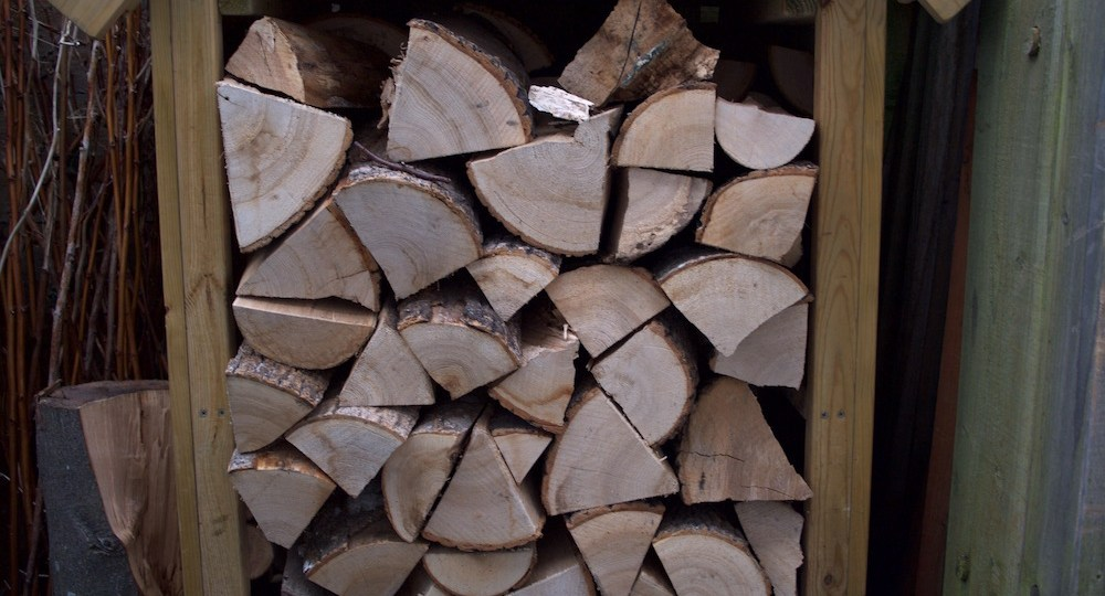 stored logs