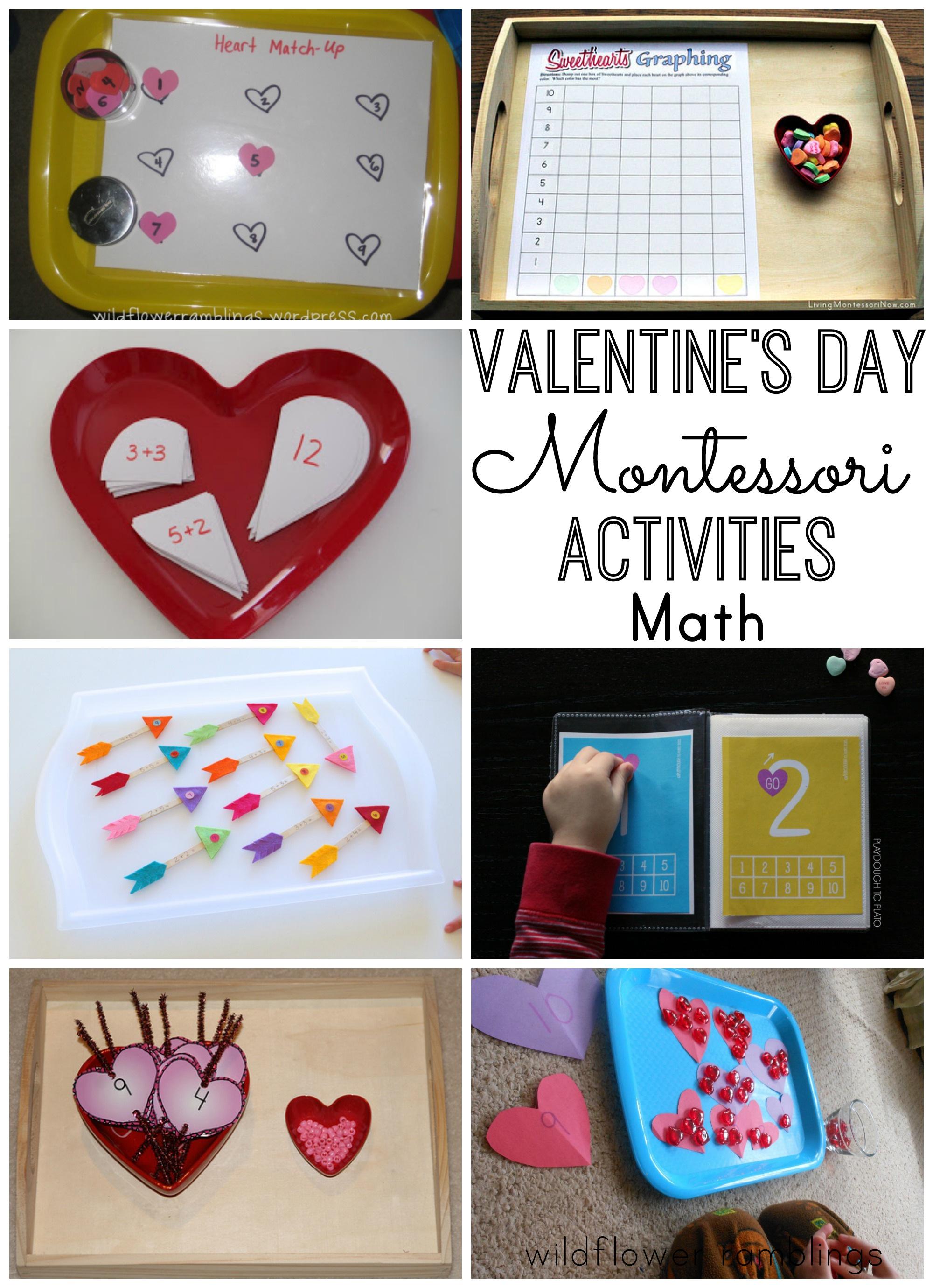 Montessori Valentine S Day Activities