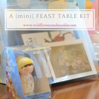 Gift Idea: A {mini} Feast Table Kit