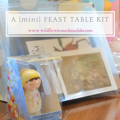A Mini Feast Table Kit