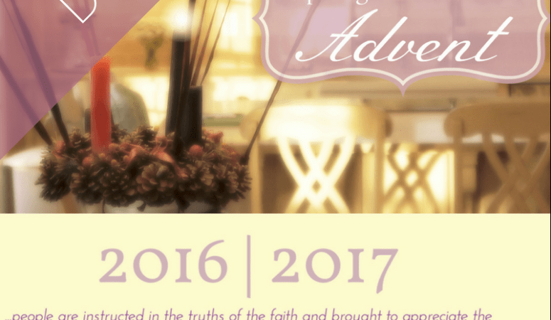 Advent 2016 Booklet Available!