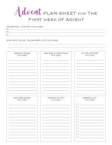 thumbnail of Advent plan-sheets