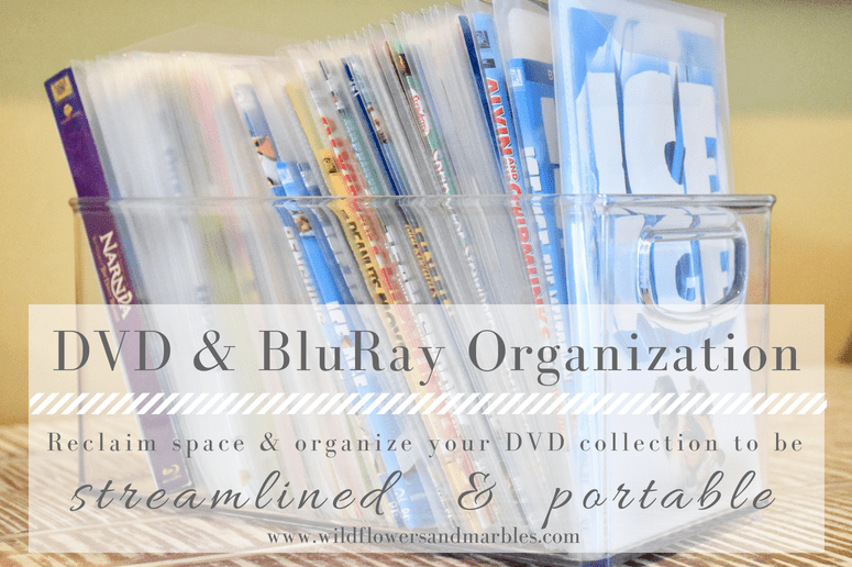 DVD and Blu-ray Organization Project