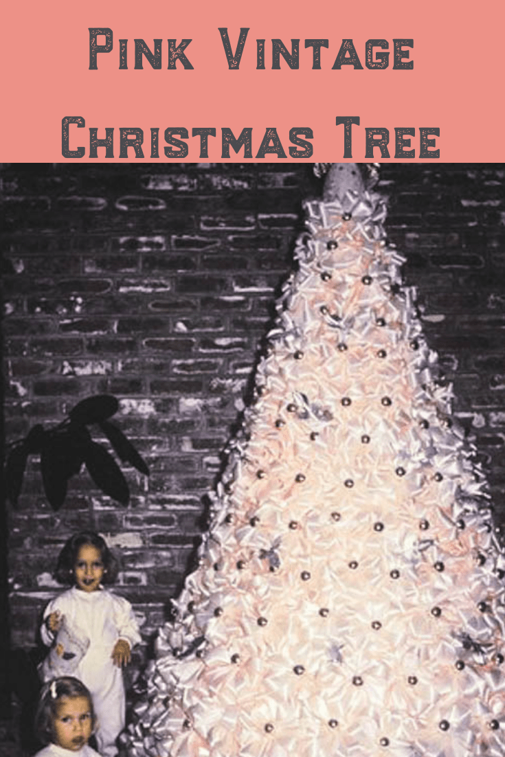 Grammie\'s Famous Pink Christmas Tree, featured in Sunset Magazine, 1958
