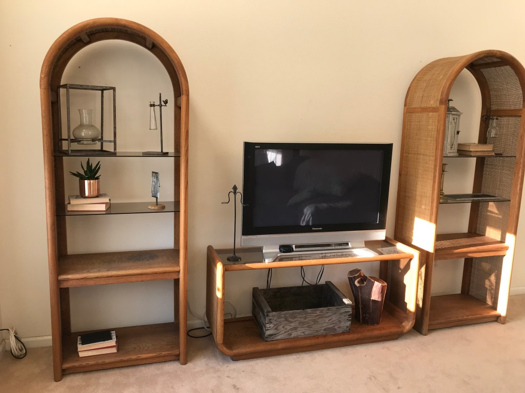DIY restoration etagere bookcase