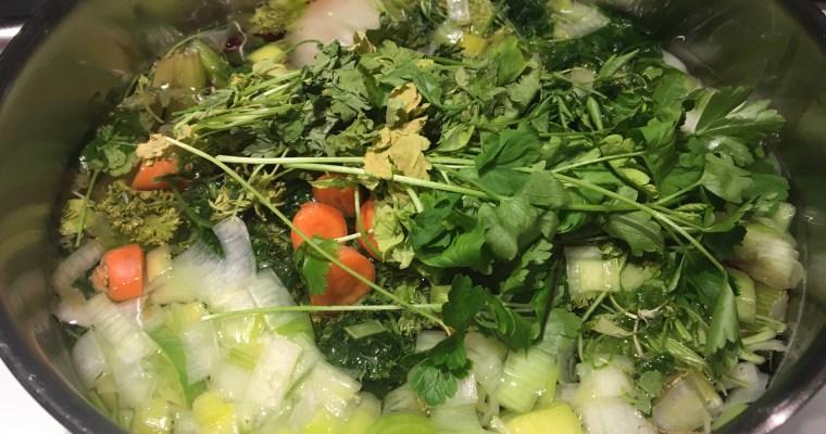 TIP: No waste groentebouillon