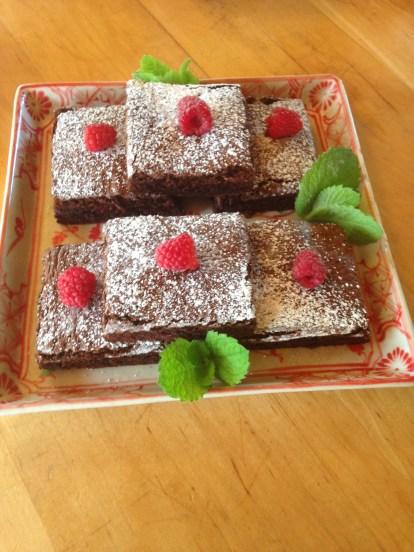gluten free choco n raspberry