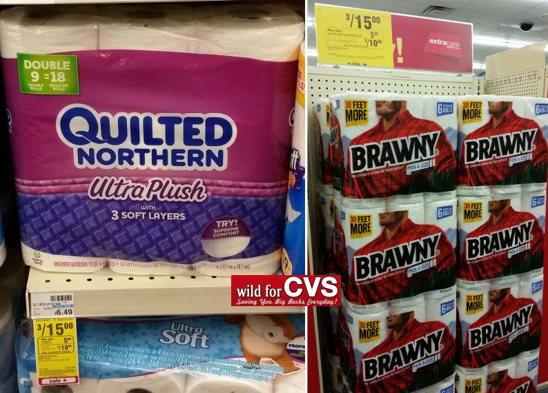 Brawny Paper Towels $2.58 Per 6 Pk