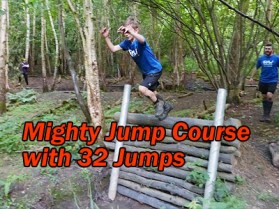 kids jump course
