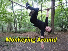kids monkeying around