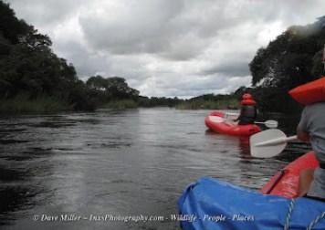 Namibia -Angola river float