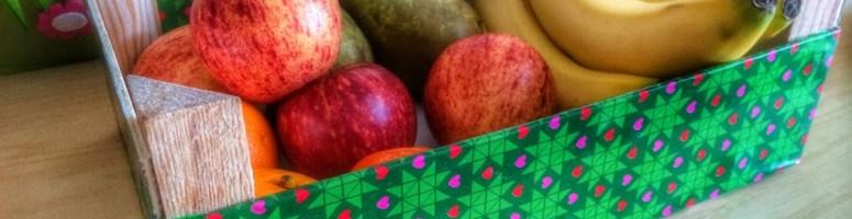 DIY Treasure Trunk & Fruit Box Makeover