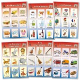 French Vocabulary Poster Set 4: Food, Drink, Wild Animals, School. Instruments and Transport http://www.wildgoose.ac/product_p/fr0071.htm