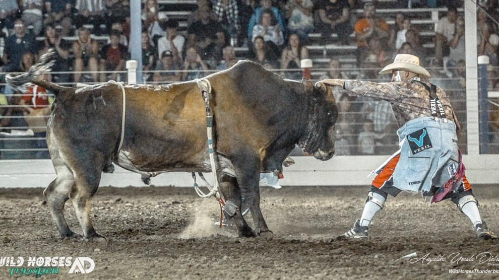 """VIDEO Commercial: """"Feel the Thunder"""" at the  74th Chief Joseph Days Rodeo"""