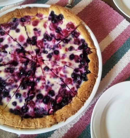 Huckleberry Cream Pie
