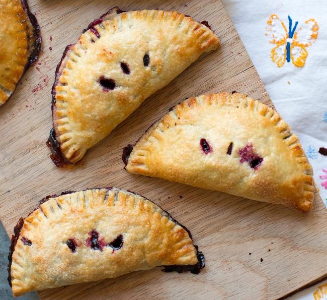 Huckleberry Hand Pies