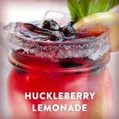 Huckleberry Vodka Lemonade