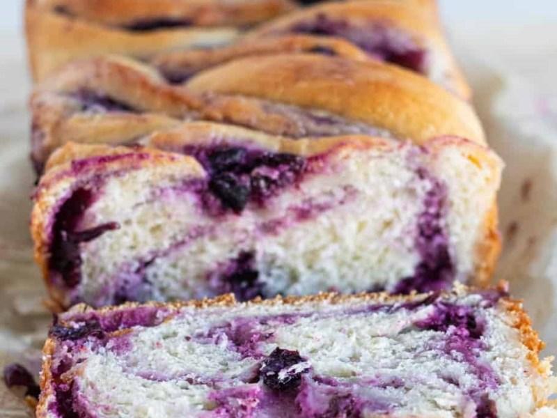 Huckleberry Cream Cheese Babka