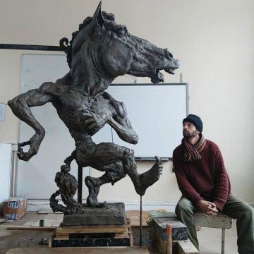 Púca sculpture denounced from pulpit