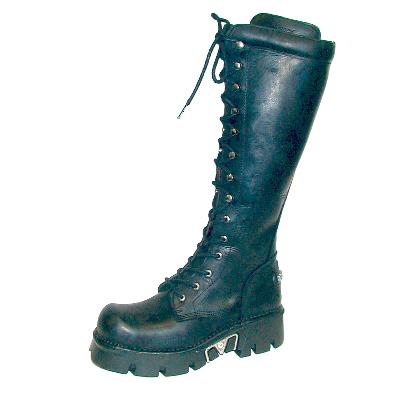 New Rock Boots 235-S1 Reactor Negro S/H, Itali Negro