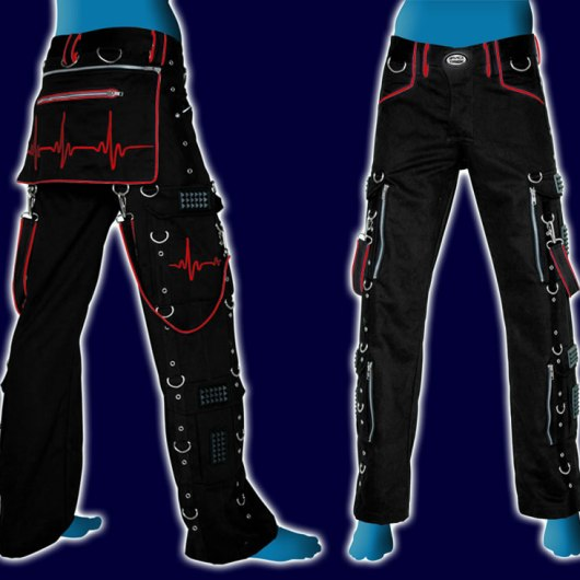 Pulse Pants Black+Red