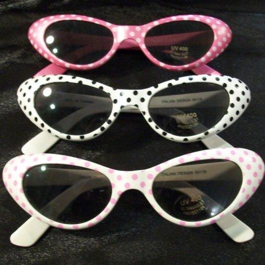 Vintage Polkadot Sunglasses