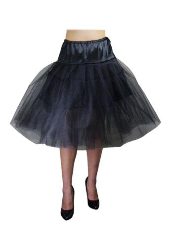 Chicstar Organza Petticoat - Black