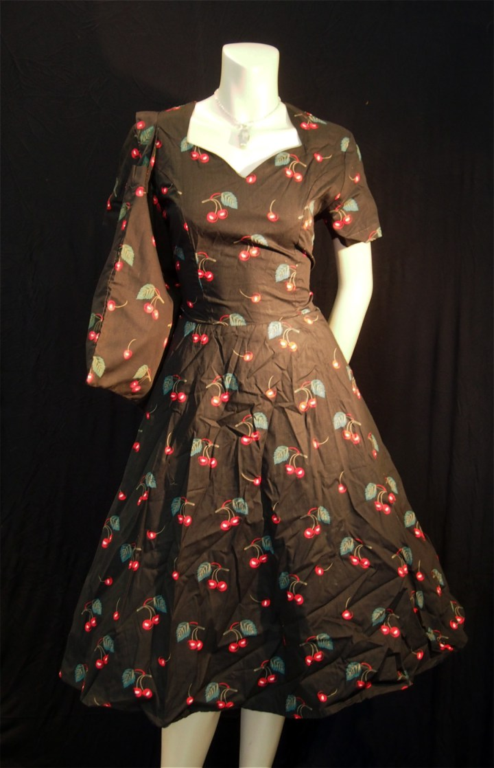 Rockabilly Sweet Cherries Sweetheart Dress