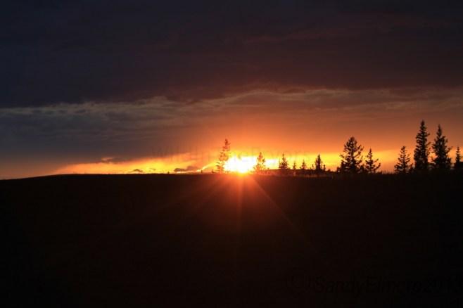 Sunset, September 8, 2013