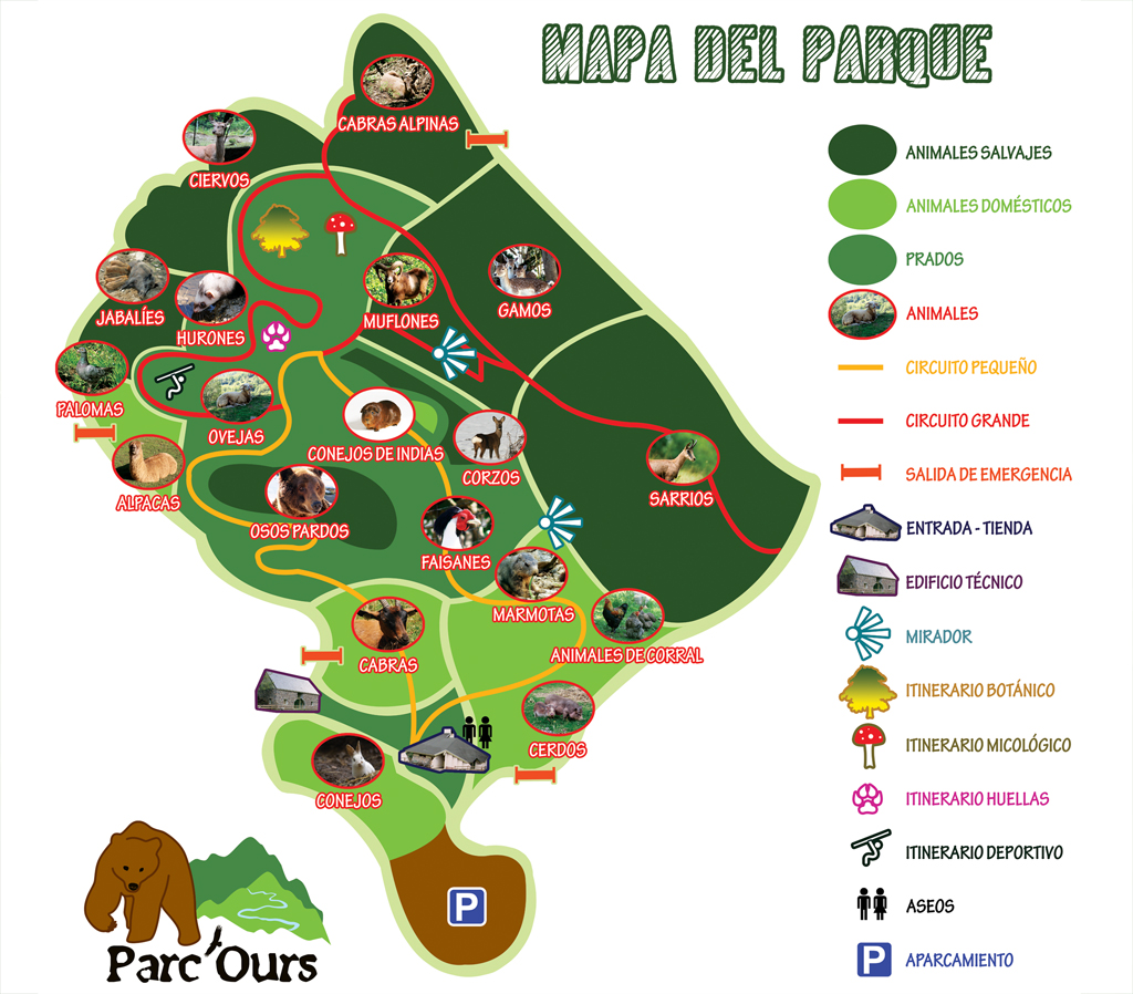 Plano Parc ours