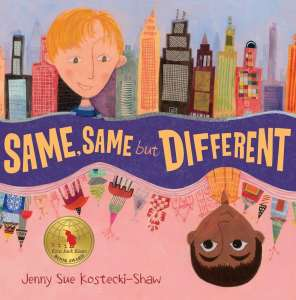 Children's books that celebrate diversity - same same but different