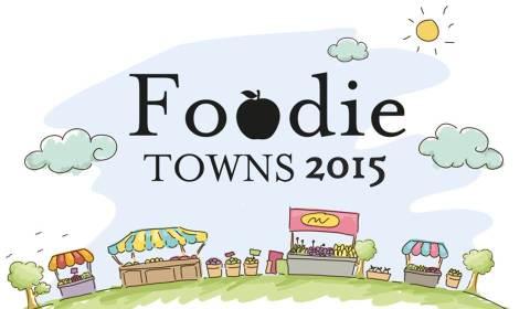 Foodie Towns 2015 Logo