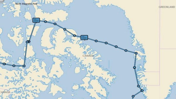Greenland to Pond Inlet