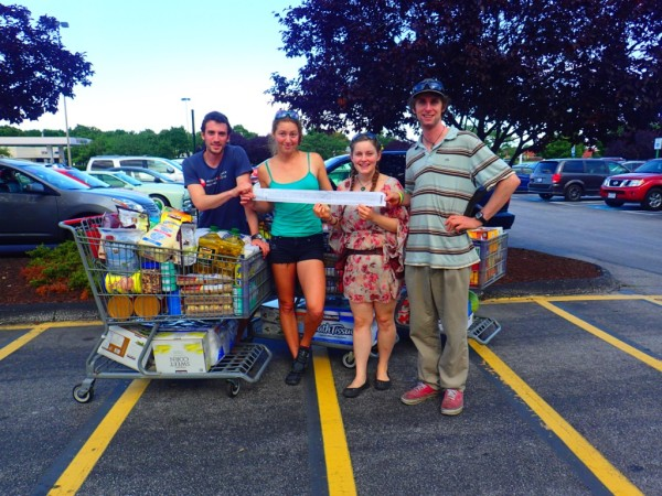 $2500 of groceries