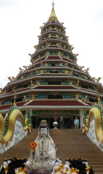 The 9 Tier Temple that you can climb