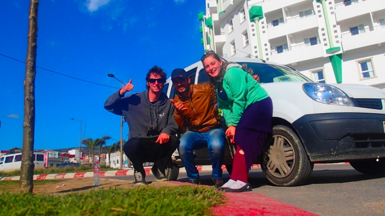 Hitchhiking in Morocco