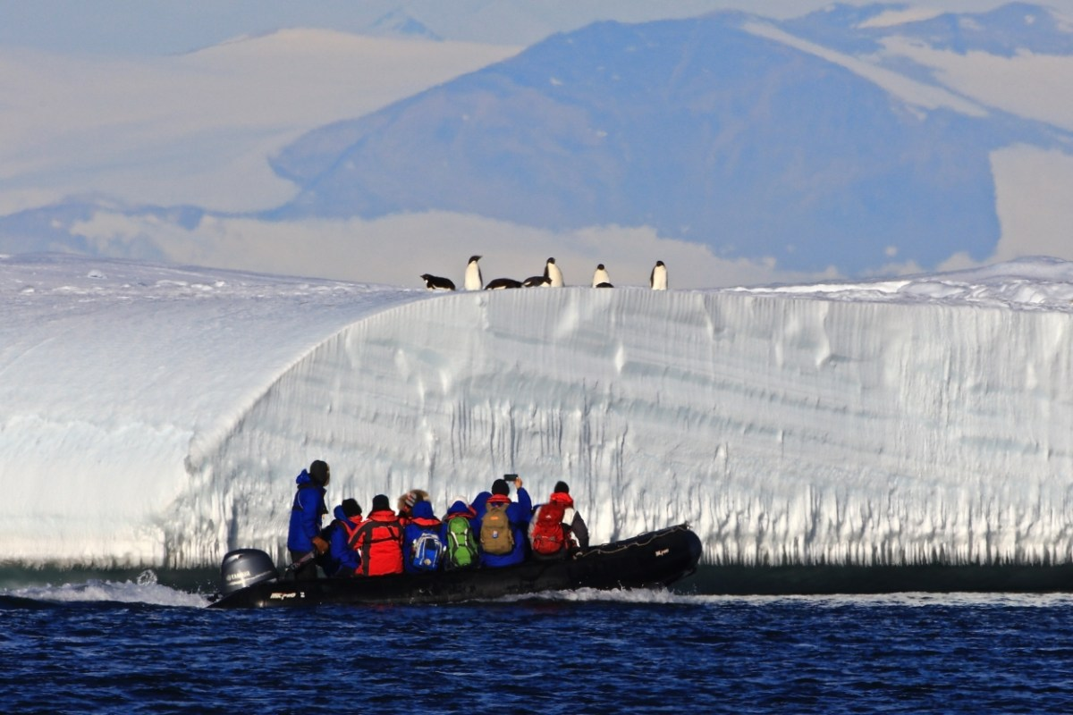 Videos from Antarctica