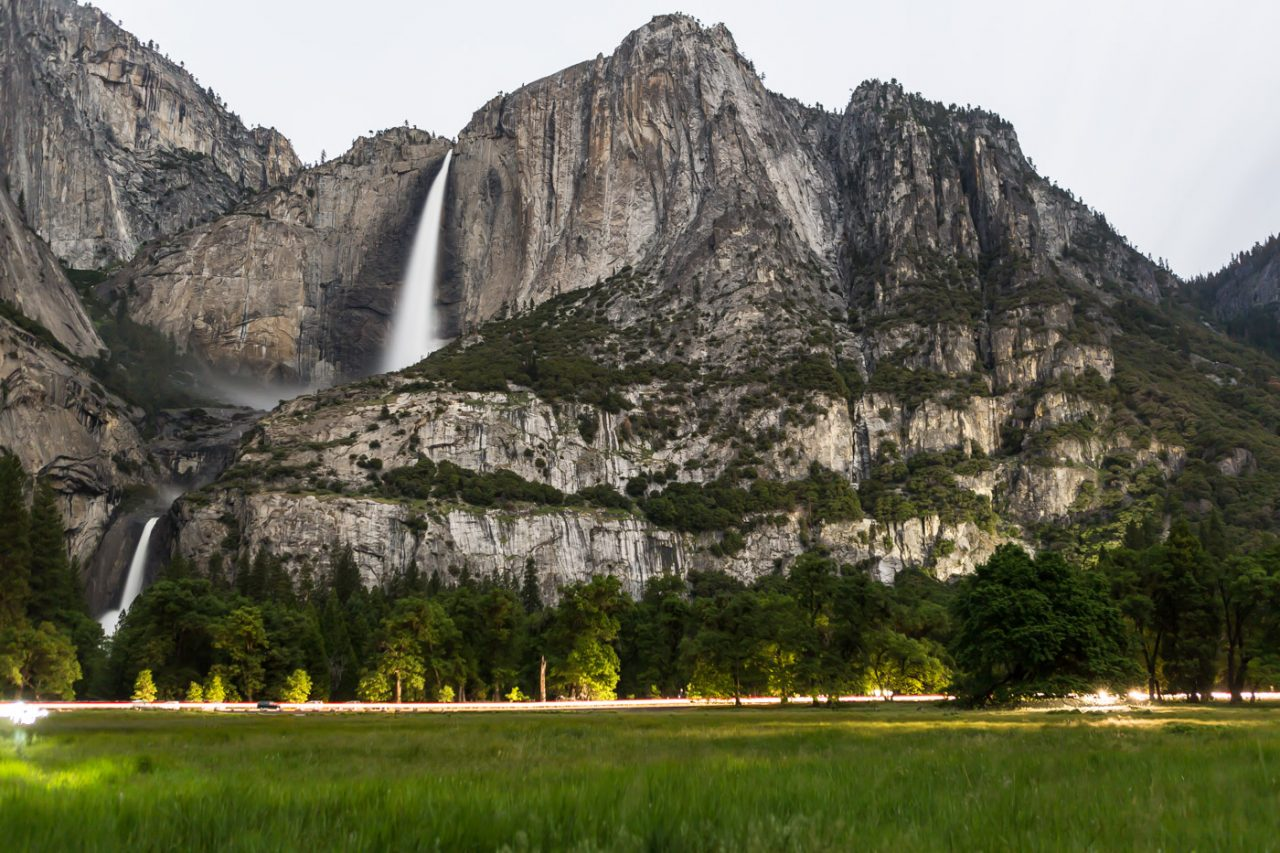 Cook's meadow  is home to one of the great spots for pictures in Yosemite Valley.