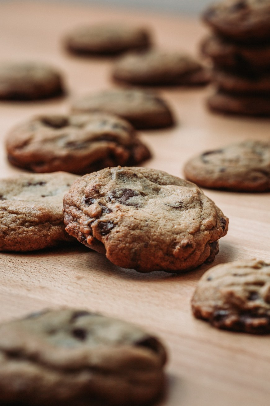Almost Famous Chocolate Chip Cookies, the best chocolate chip cookies