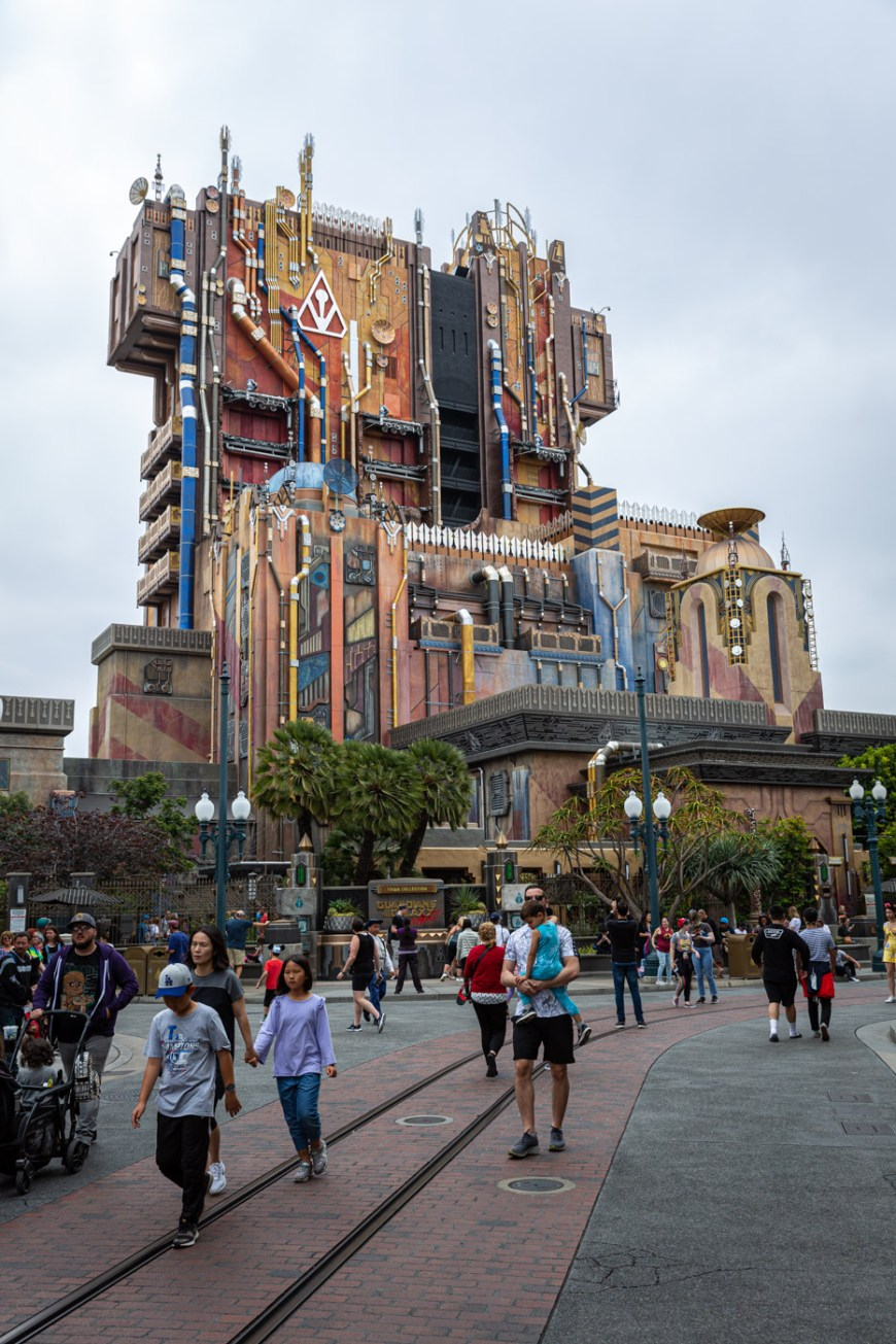 Guardians of the Galaxy at Disney's California Adventure.