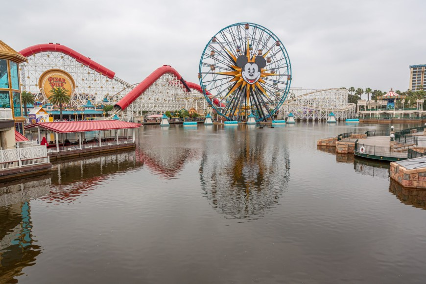 Pixar Pier, Disney's California Adventure.