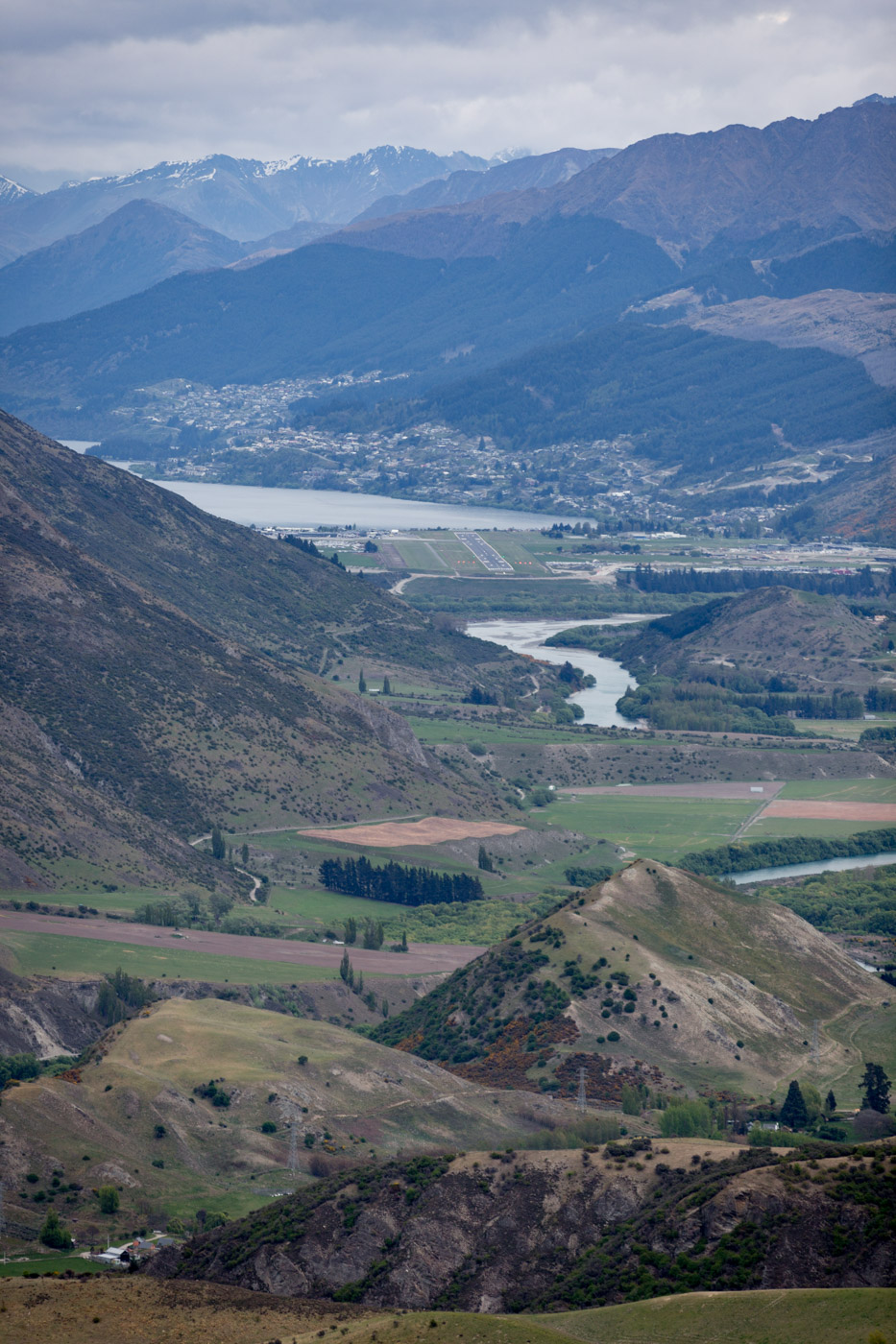 Queenstown Overlook, South Island, New Zealand