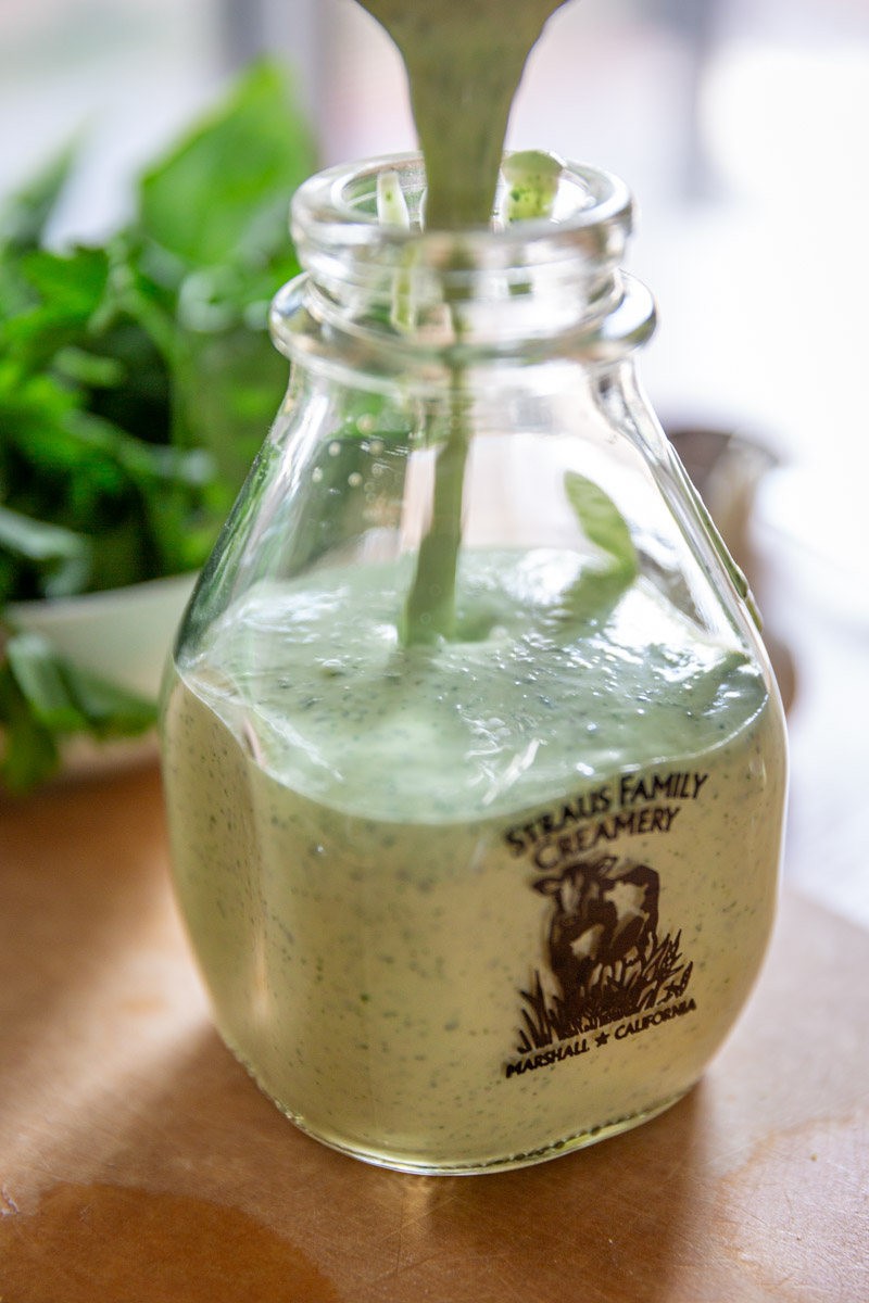 Healthy Greek Yogurt Lime Garlic Dressing Recipe