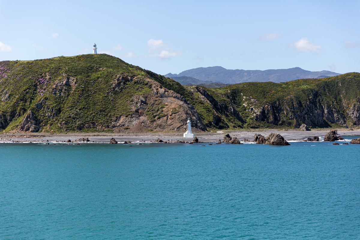 Ferry Crossing from Picton to Wellington New Zealand.