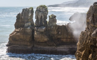 Punakaiki Pancake Rocks and Blowholes Walk New Zealand